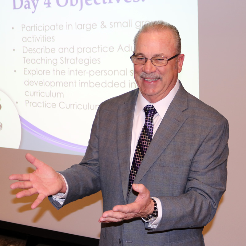Ralph Fry: Parent Project Author and Teacher