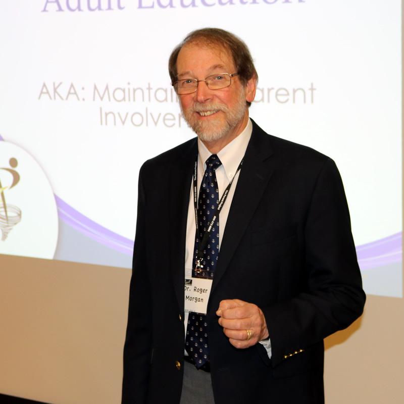 Dr. Roger Morgan: Parent Project Author and Teacher